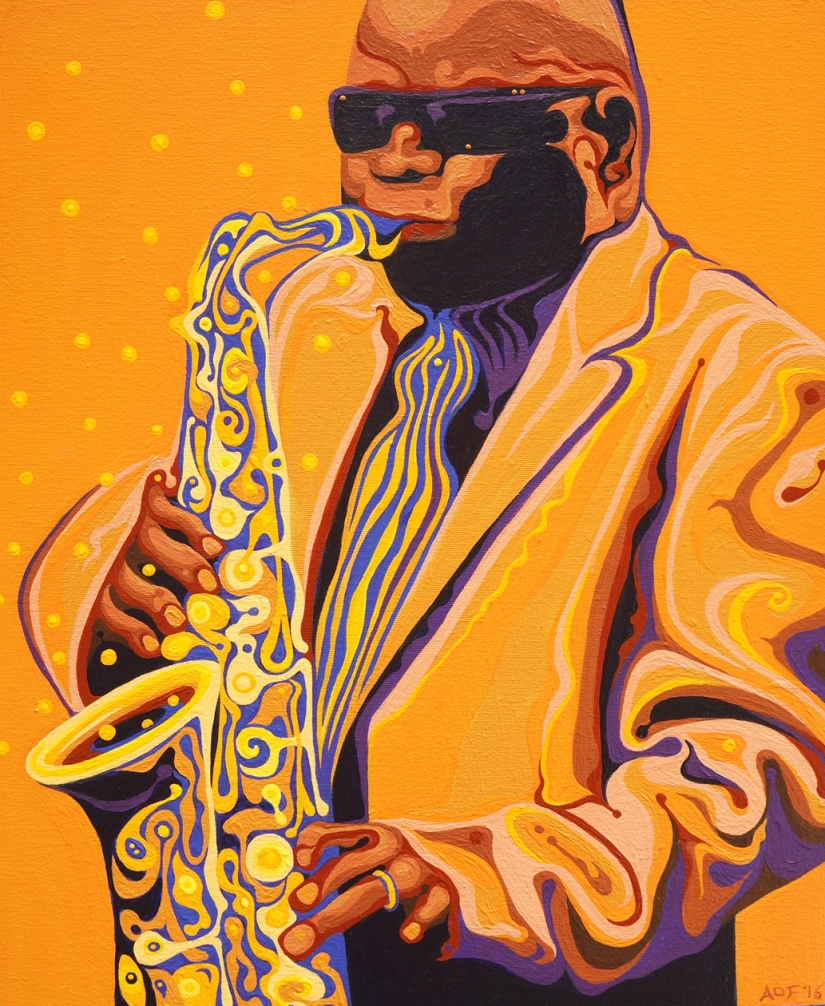 Stone Sloan Saxophone