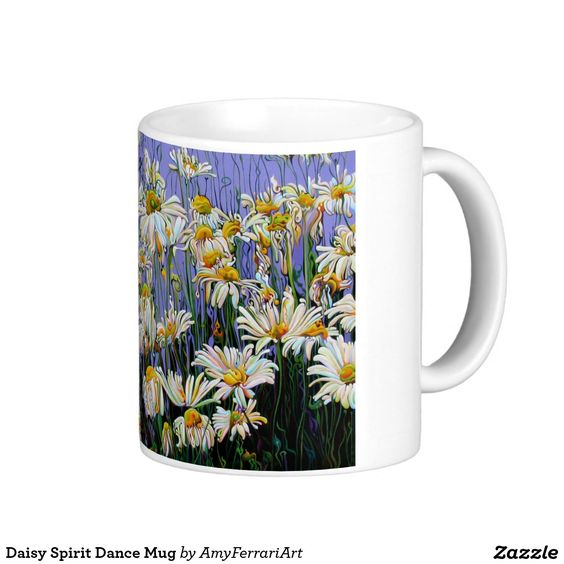 Daisy Spirit Sun Dance Mug from Zazzle