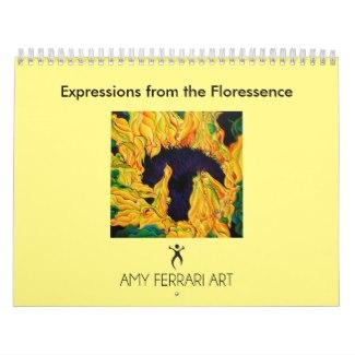 Flower Painting Calendar