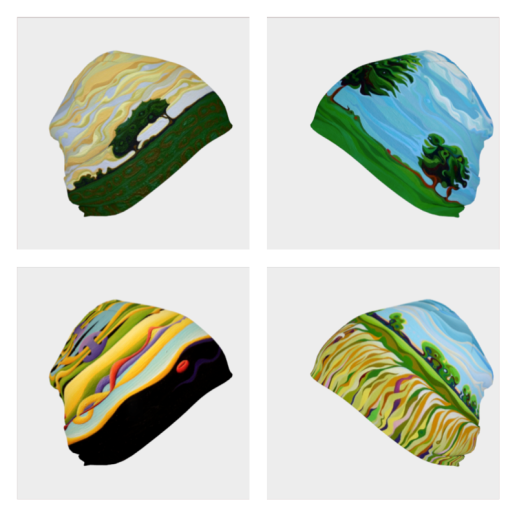 Beanie Hats from Art of Where