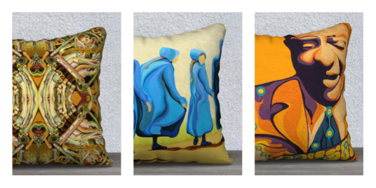 Pillows from Art of Where
