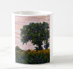 Dusky Yielding FilaTree Ceramic Mug From Zazzle