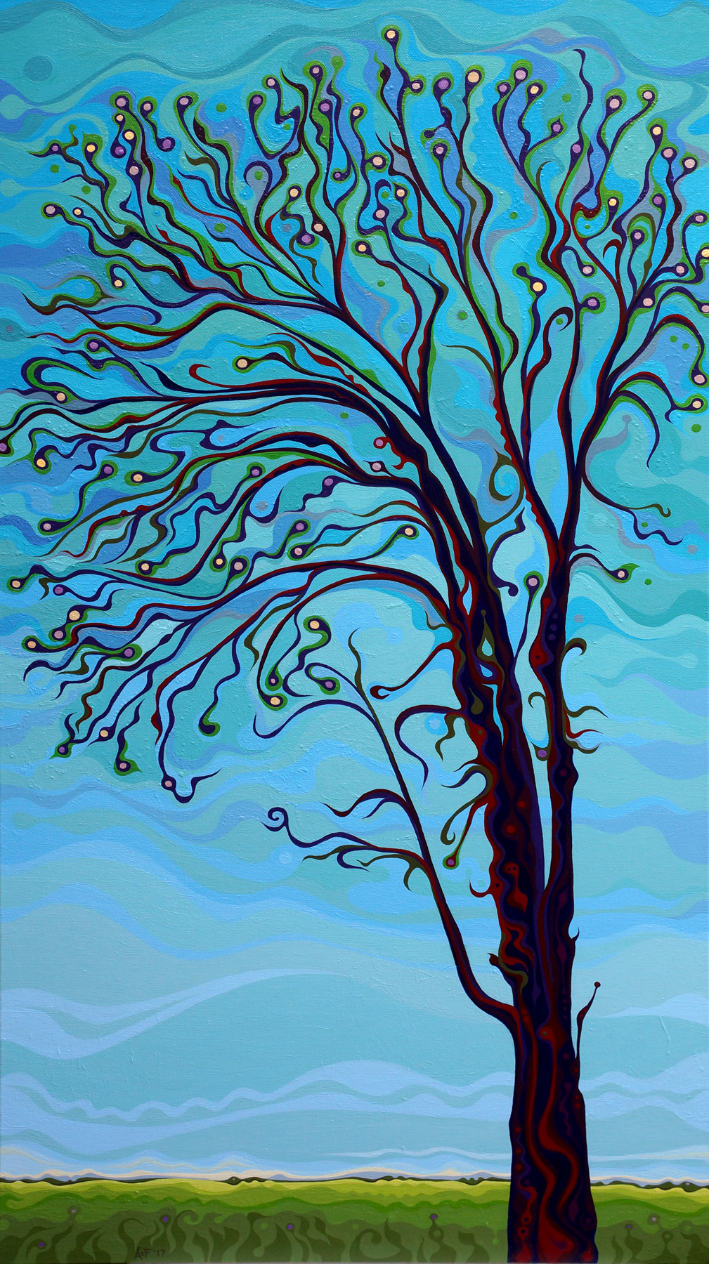 Blue Tree prnt