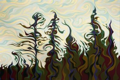 Joyful Pines, Whispering Lines