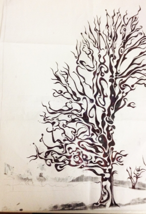 Sprit Tree Dawning Drawing Reference
