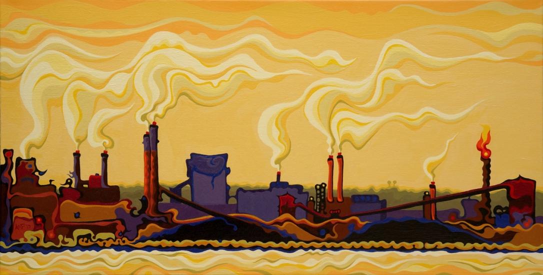 Gilded Haze at Hamilton Bay